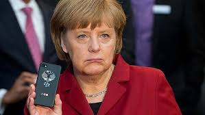 German Chancellor Angela Merkel has sought an explanation from the White House after being told the US had tapped her phone. Photo: AP - art-Angela-Merkel-Phone-777220981-620x349