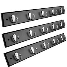 "For Living Coat Rack Adorable Amazon For Living 32 Pack Wall Mounted 32"" Hanging Rail Coat"