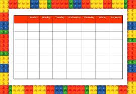 weekly reward chart printable reward chart printable oyle kalakaari co