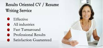 Professional Resume Writing Services Inspiration Resume Writing Service Domestic Staff CV Writing