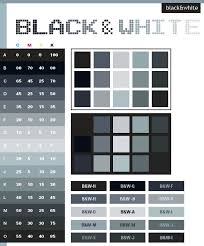 Black & White color scheme ...
