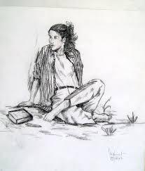 картинки изобразительное искусство рисование фигуры сидящий