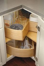 base deep bin lazy susan cabinet