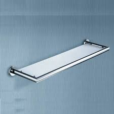 decorative glass shelves for bathroom whole and retail new wall mounted chrome bathroom shelves