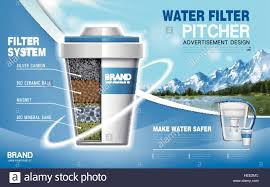 Natural water filter system Homemade Water Filter Machine Ad Natural Scenery Background 3d Illustration Alamy Water Filter Machine Ad Natural Scenery Background 3d Illustration