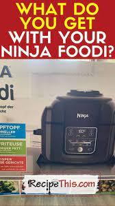 getting started with the ninja foodi
