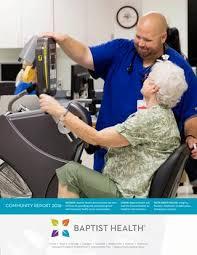 Baptist Health Community Report 2016 By Baptist Health Issuu