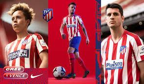 Nike atletico madrid 20/21 home vapor match ss shirt. Atletico Madrid 19 20 Home Kit Revealed Footy Headlines