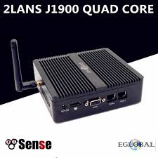Eglobal <b>Mini PC</b> Quad Core <b>Celeron</b> J1900 2 LAN Router Firewall ...