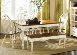 Country Dining Room Chairs New Dining Table White Cottage Style
