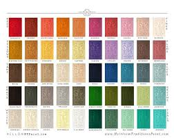 Diy Paint Color Chart My New Paint Beginning With Heirloom Traditions And Diy