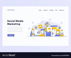 Web Design Resolution Web Design Flat Concept Social Media Marketing