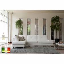 sectional sofa with chaise. California White Top Grain Leather Left Hand Facing Sectional Sofa With Chaise