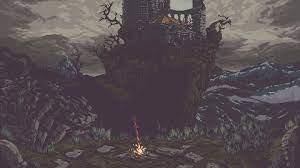Dark Souls III, video games, pixel art ...