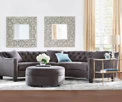 A glamourous curved sofa offers a unique shape A perfect complement
