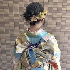 卒業式 ミディアム ヘアセット 成人式oli 藤田成美 Oli 442422hair