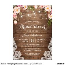 String Of Lights Rustic Wedding Invitation Pin On How To Plan The Best Bridal Or Wedding Shower