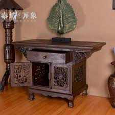 Image Asian Antique Thailand Southeast Asian Style Wood Furniture Console Tables Entrance Cabinet Wooden Ornaments Carved Furniture Home Decor Aliexpress Thailand Southeast Asian Style Wood Furniture Console Tables