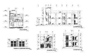 Simple Building Design Pictures Simple Building Design In Dwg File