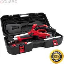 colibrox pro 750 watt electric power drywall sanding sander tool dry wall carrying case