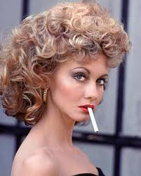 olivia as the cool sandy in grease