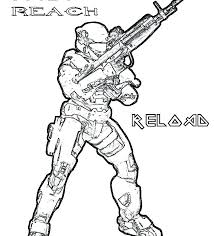Inspirational Halo Reach Spartan Coloring Pages Teachinrochestercom