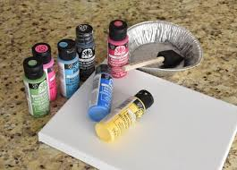 supplies needed for this mommy s flower garden mother s day gift handprint and footprint crafts