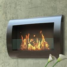 chelsea wall mounted bio ethanol fireplace