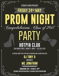 Prom Night Ticket Design 12 Prom Flyer Designs Templates Psd Ai Free