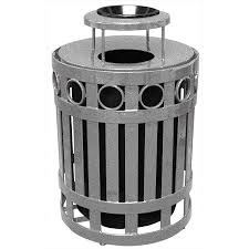 commercial outdoor trash cans. Our Commercial Outdoor Waste And Trash Receptacles Are Fabricated For Commercial, Home, Hospitality, Industrial Institutional Use Can Be Ordered Cans A