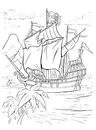Expert Kleurplaat Moeilijk Piratenschip Niet Voor Beginners