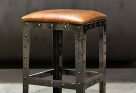 bar : Beautiful Black Leather Bar Stools Counter Height 22 In ...