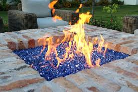 home and furniture miraculous gas fire pit with glass rocks in table beautiful gas fire