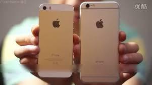 iphone 5s gold leak. iphone 6 vs 5s (hand 001) iphone gold leak