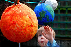 solar system crafts 6 dry and then hang red ted