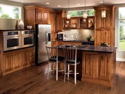 Rustic Country Kitchens Under Low Ceiling White Pendant Lamps Rustic Country Kitchen
