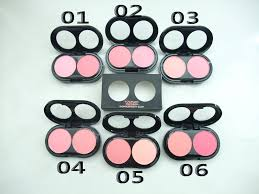 art mac cosmetics two color flower blush whole