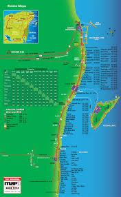 riviera mapa map Cancun Resort Map 2017 riviera maya map cancun resort map 2017
