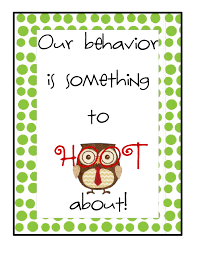 Owl Behavior Clip Chart The Go To Teacher Addition To Owl Behavior Chart Clip Art