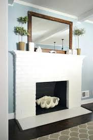 painted brick fireplace white painted brick fireplace makeover google search painting or whitewashing a brick fireplace