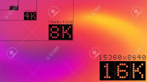 2k Background Ultra High Resolution 16k Comparison Mockup With Abstract Tv