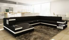 modern black leather couches. Modern Black Leather Couches S