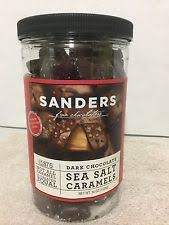 item 3 sanders dark chocolate sea salt caramels 36 oz jar salted candy fine chocolate sanders dark chocolate sea salt caramels 36 oz jar salted candy fine
