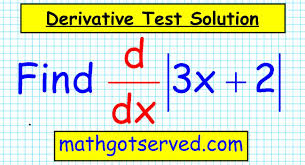 unit 3 test corrections 7 derivative of absolute value functions you