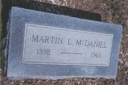 Martin Luther McDaniel (1892-1968) - Find A Grave Memorial