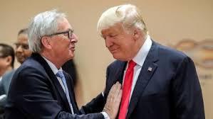 Trump meets Juncker