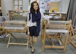 finishing touches hk eco chic. In This Oct. 4, 2016 Photo, Independent Designer Elaine Ng Poses Her Finishing Touches Hk Eco Chic R