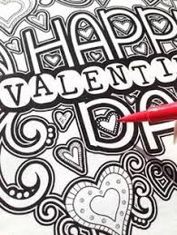 Small Picture Valentines Day Coloring Pages for Adults Teens Teen Adult