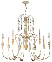 cyan design maison transitional chandelier