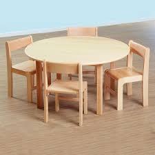 circular furniture. Solid Beech Circular Table And Chairs Set Furniture U